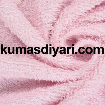 açık pembe havlu bornoz kumaş