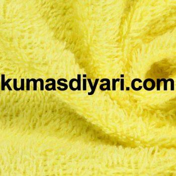 açık sarı havlu bornoz kumaş