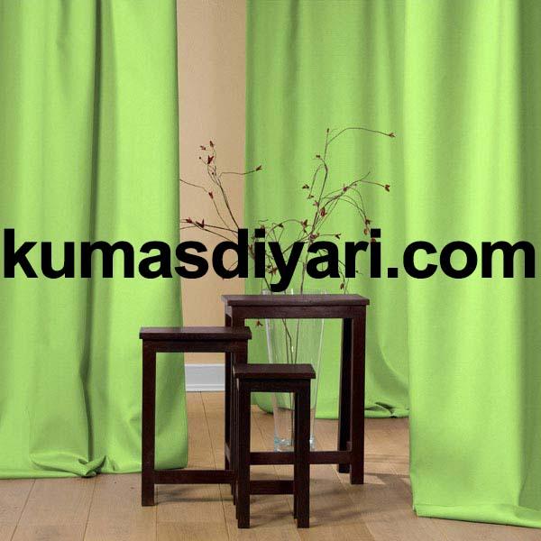 açık yeşil fon perde kumaş