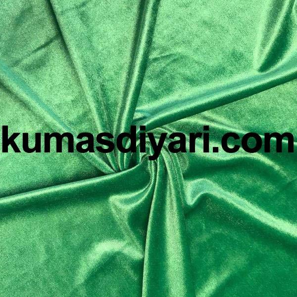 açık yeşil kadife kumaş