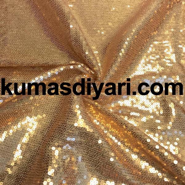 altın payet kumaş 3mm