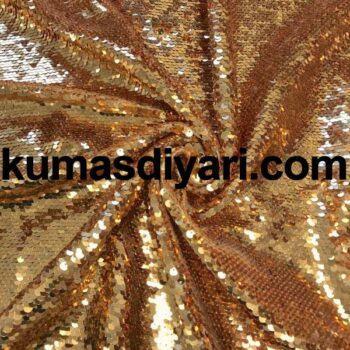 altın payet kumaş 5mm