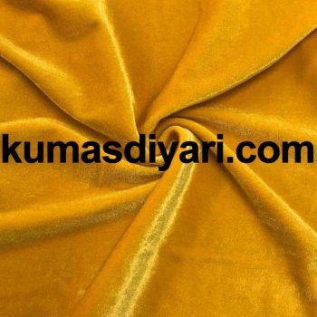 altın sarısı kadife kumaş