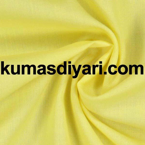 ayçiçeği sarısı poplin kumaş