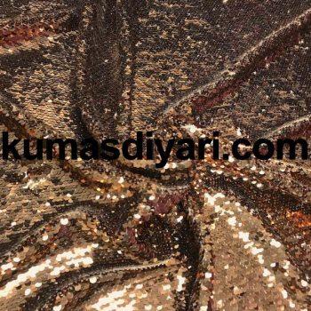 bakır payet kumaş 5mm