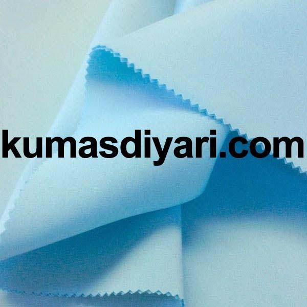 bebe mavisi puf dalgıç kumaş