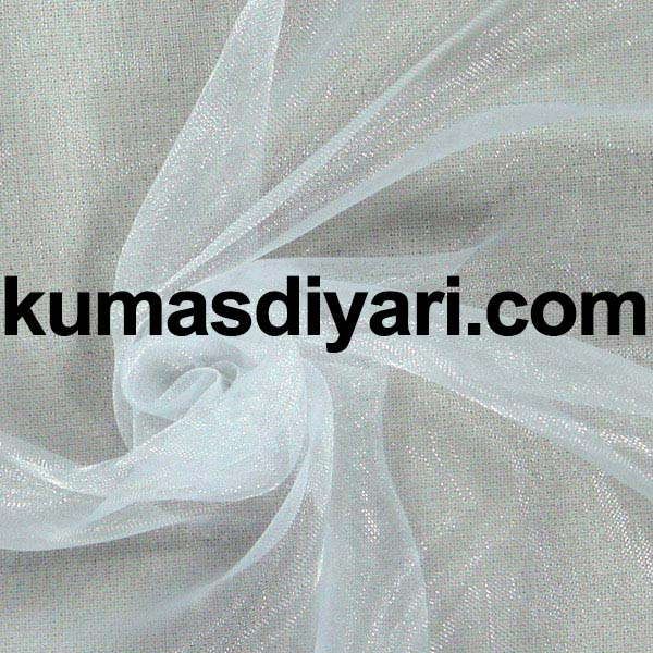 beyaz organze tül kumaş