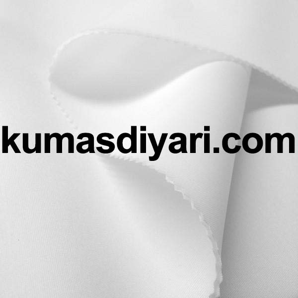 beyaz puf dalgıç kumaş