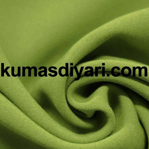 fıstık yeşili gabardin kumaş