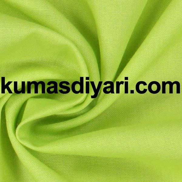 fıstık yeşili poplin kumaş