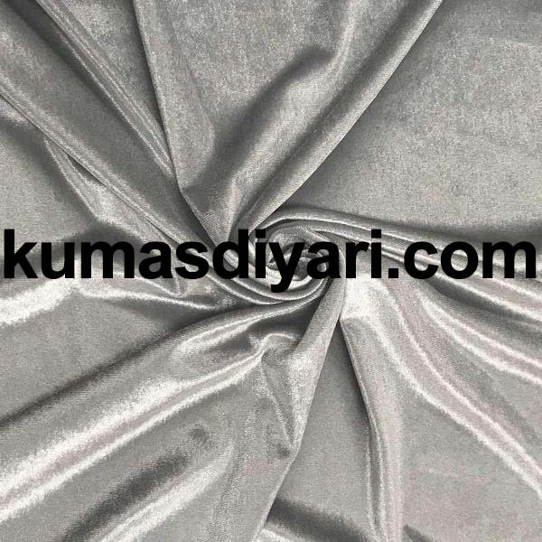 gümüş kadife kumaş