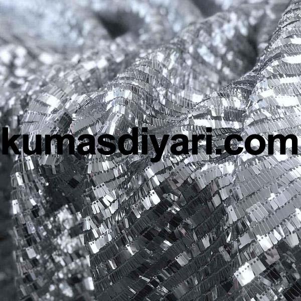 gümüş piyano payet kumaş