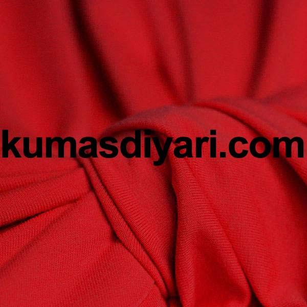kırmızı sandy kumaş