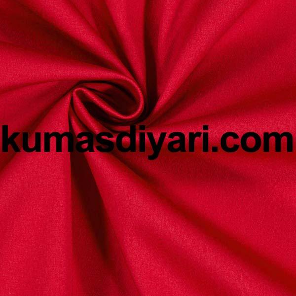 koyu kırmızı krep kumaş