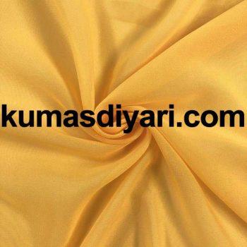 koyu sarı şifon kumaş