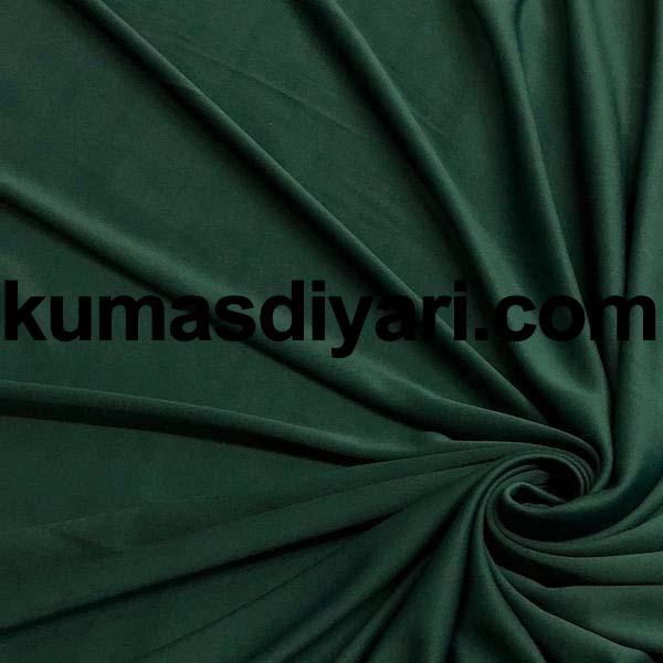 koyu yeşil interlok kumaş