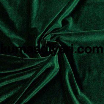 koyu yeşil kadife kumaş