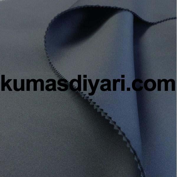 mat mavi puf dalgıç kumaş