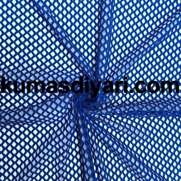 mavi file kumaş