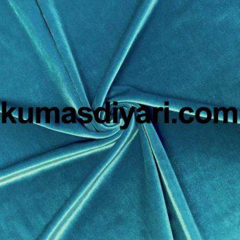 mavi kadife kumaş