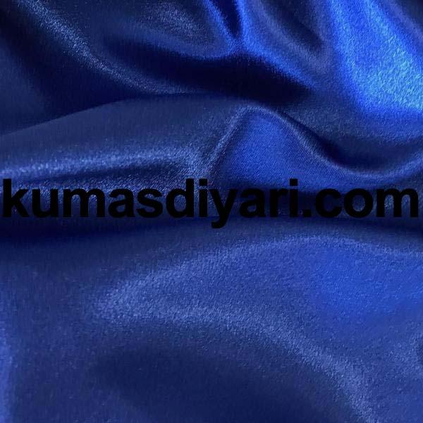mavi saten kumaş