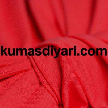 neon kırmızı sandy kumaş