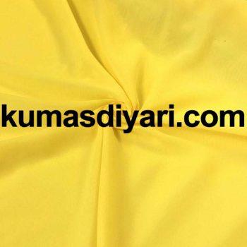 neon sarı şifon kumaş