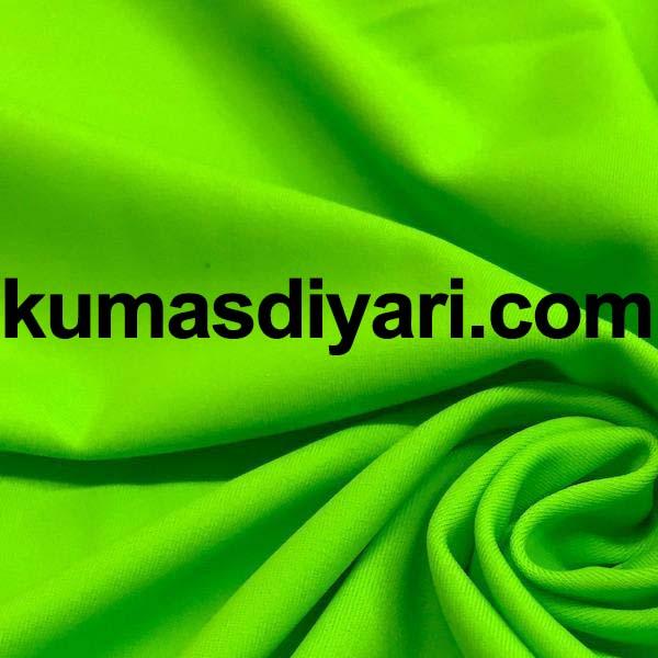 neon yeşil scuba dalgıç kumaş