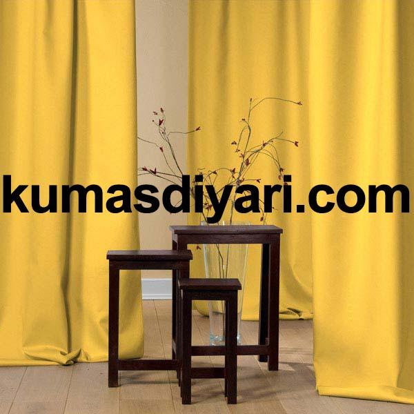 sarı fon perde kumaş