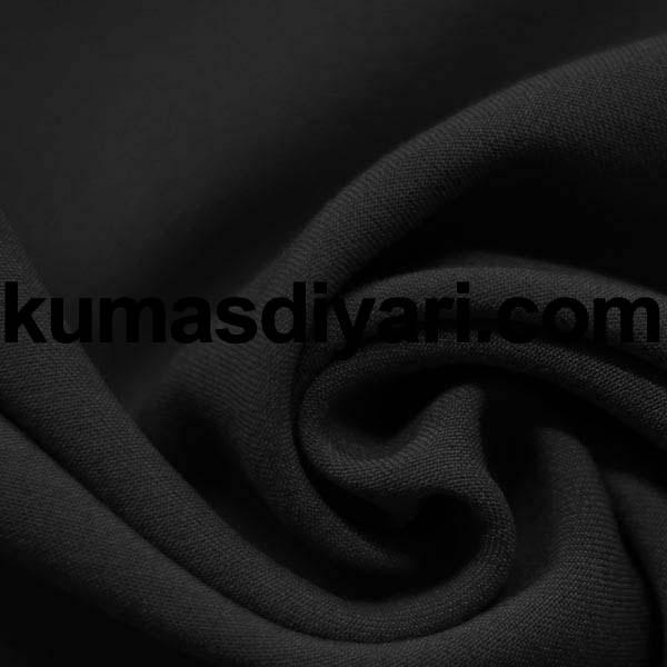 siyah gabardin kumaş
