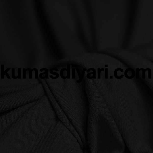 siyah sandy kumaş