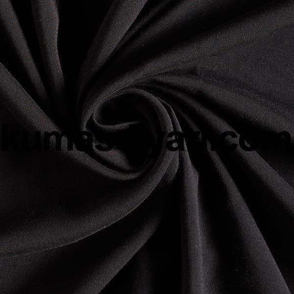 siyah viskon kumaş