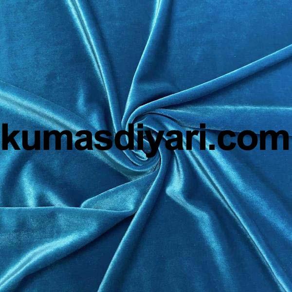 turkuaz kadife kumaş