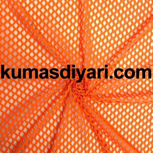 turuncu file kumaş