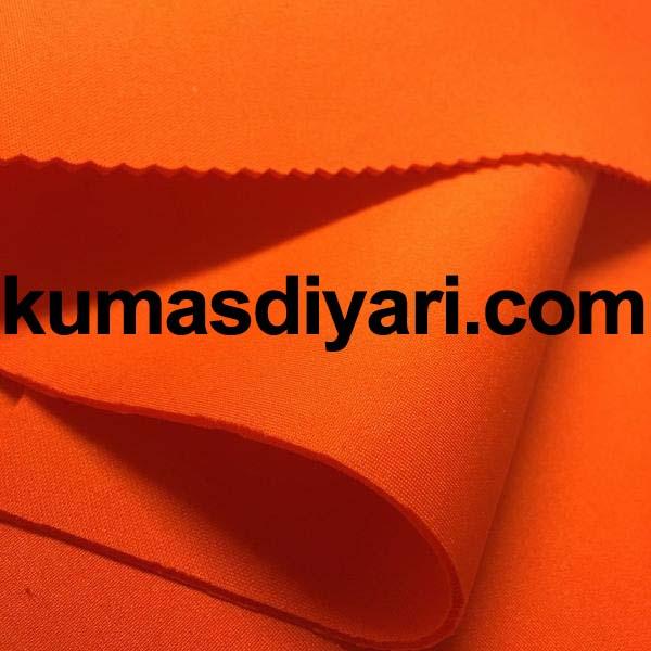 turuncu puf dalgıç kumaş