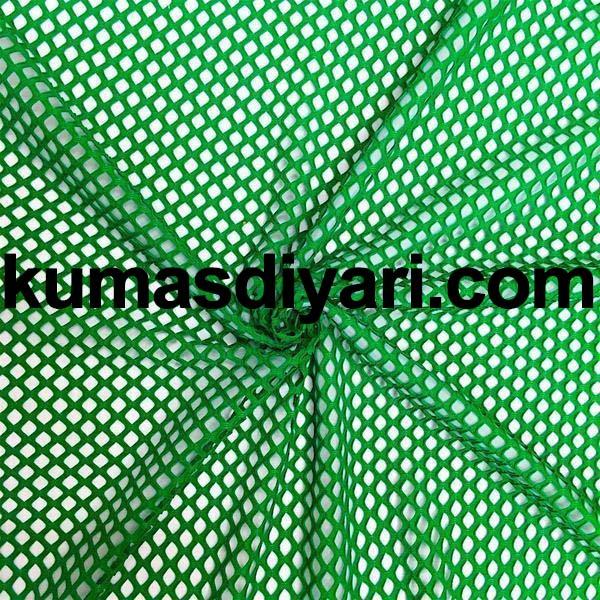 yeşil file kumaş