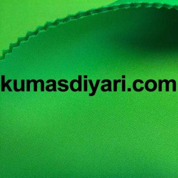 yeşil puf dalgıç kumaş