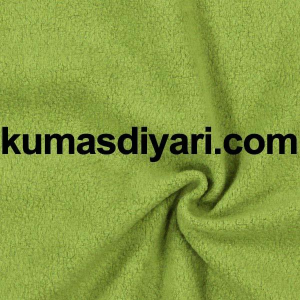 yeşil welsoft kumaş