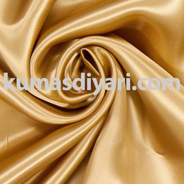 altın atlas kumaş