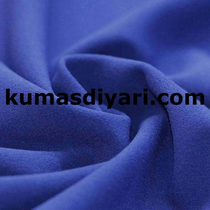 açık mavi scuba krep kumaş
