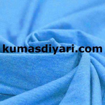 aqua mavi penye kumaş