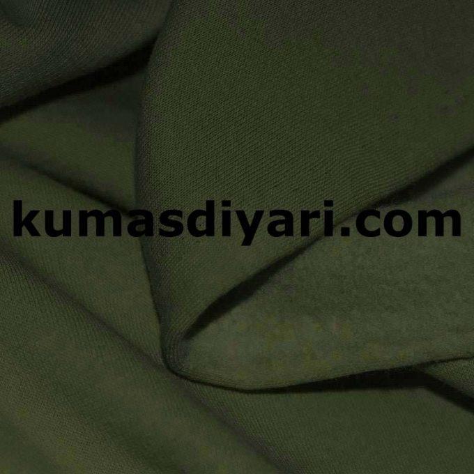 asker yeşili üç iplik kumaş