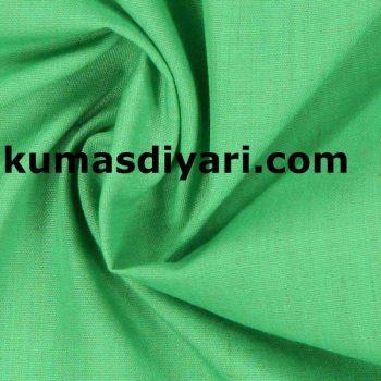 elma yeşili terikoton kumaş