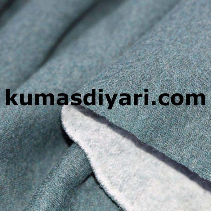 eski yeşil üç iplik kumaş