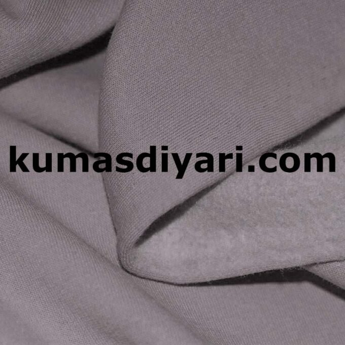 gri üç iplik kumaş