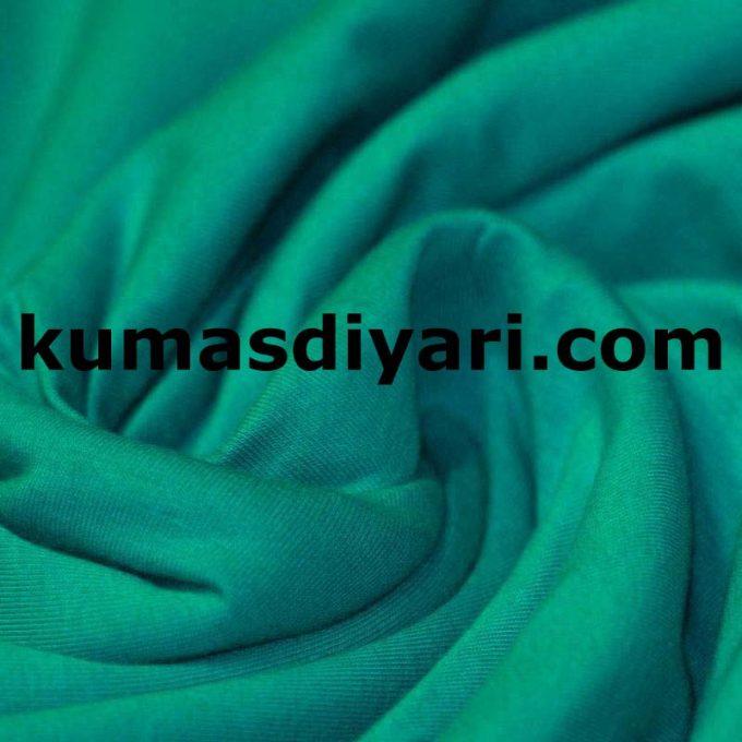 küf yeşili penye kumaş