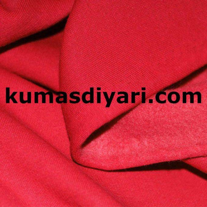 kırmızı üç iplik kumaş
