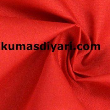 kırmızı terikoton kumaş
