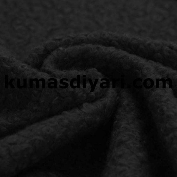 siyah buklet kumaş