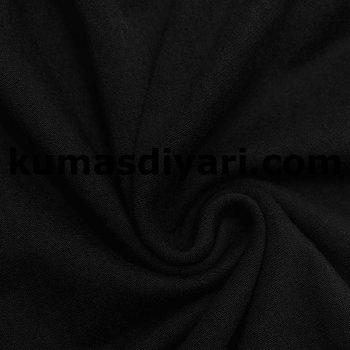 siyah kaşkorse kumaş